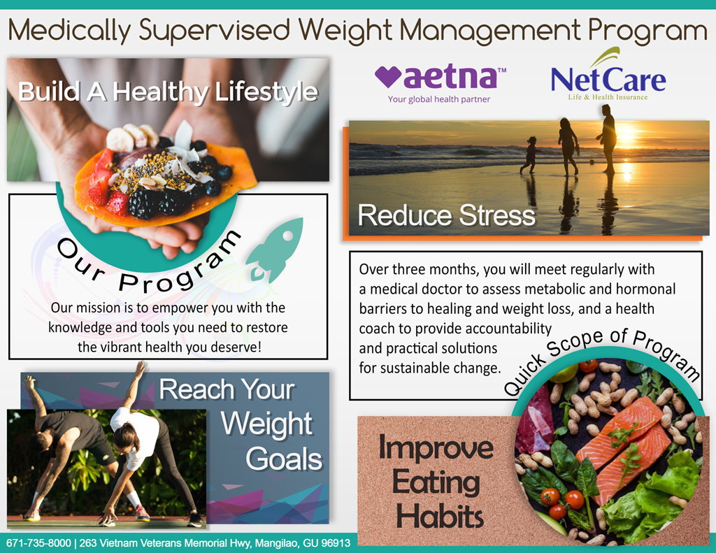 Medically Supervised Weight Management | NEWGEN GUAM | Physical Therapy | Wellness | Sports Performance
